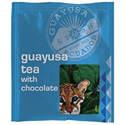 Guayusa Tea with Chocolate