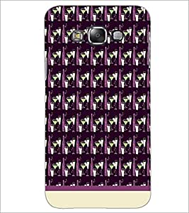 PrintDhaba Glass pattern D-1936 Back Case Cover for SAMSUNG GALAXY A8 (Multi-Coloured)