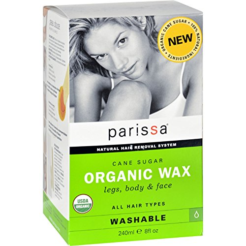 Parissa Hair Removal Wax - Organic - Cane Sugar - 8 oz-95%+ Organic -