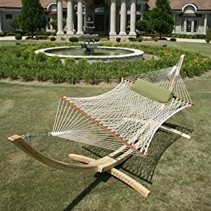 Hatteras DC-14OT Large DuraCord Rope Hammock - Oatmeal (Discontinued by Manufacturer)