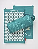 Cotton Pagoda Blue Acupressure Massage Mat with carry-bag