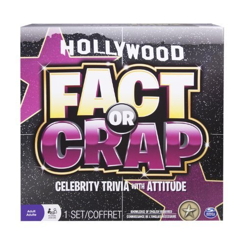 Spin Master Games - Fact or Crap Hollywood Edition by Spin Master Games TOY