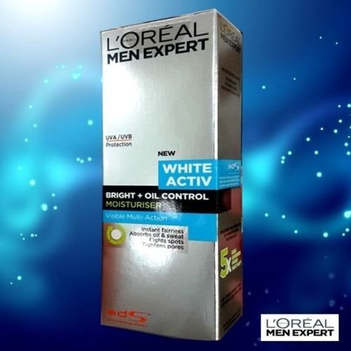 ロレアル メンフェイス エキスパート モイスチャー L'Oreal Men Face Expert Moisturizer White Activ Bright Oil Control UV