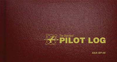 Standard Pilot Log Burgandy (Standard Pilot Logbooks) from Aviation Supplies & Academics, Inc.