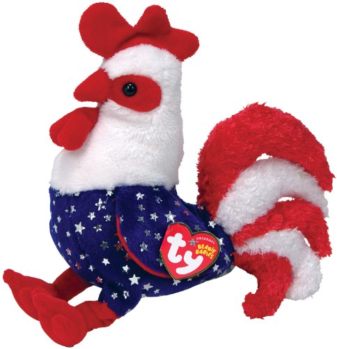 Ty Beanie Babies Homeland Rooster - 1