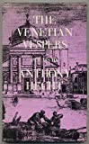 The Venetian Vespers: Poems