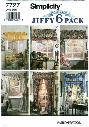 Free Pattern Knit Curtains, Frayed Curtain Pattern -
