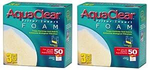 Aquaclear Foam Inserts, 3-Pack (6-Pack, 50-Gallon)