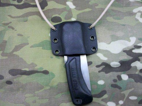 Cold Steel Xl Voyager Knife Custom Kydex Sheath - Black Color
