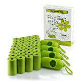 Multi Counts Dog Poop Bags with Dispenser, Dog Waste Bags, Pet Waste Bags (8.5'' X 12'') EnKo Products (Pink / Green Color)