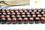 【 福縁閣 】レッドタイガーアイ 8mm 1連(約38cm)_R219/A12-1 天然石 パワーストーン ビーズ