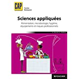 Sciences appliqu�es CAPpar Antoinette Paccard