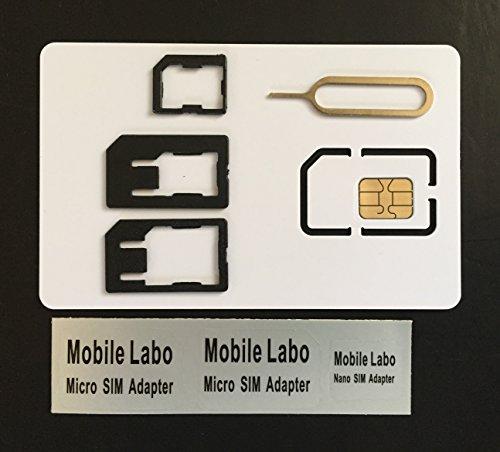 iP-TecAmazon即日出荷 ios8.3対応 アクティベーション〓アクティベートカード   iPhone5 5S 純正Nano simカード(0.67mm) activationnano simサイズ+ 変換アダプター5点セット (ソフトバンク)