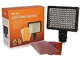 カメラ用 LEDライト 160球LED搭載 照明 HD-160