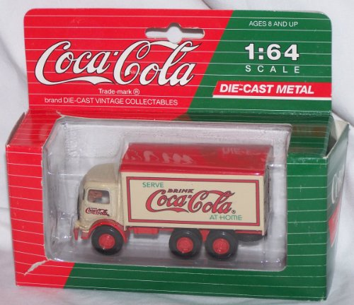 Die Cast Coca-Cola Mack Model CJ 1/64 Serve Coca-Cola at Home AHL Hartoy 91 Coke