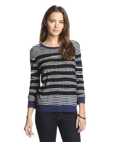 Shae Women's Pullover with Stripes