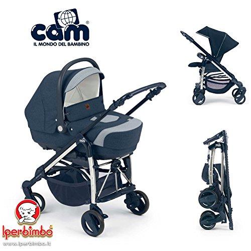 Trio Cam Comby family navicella passeggino autoseggiolone borsa