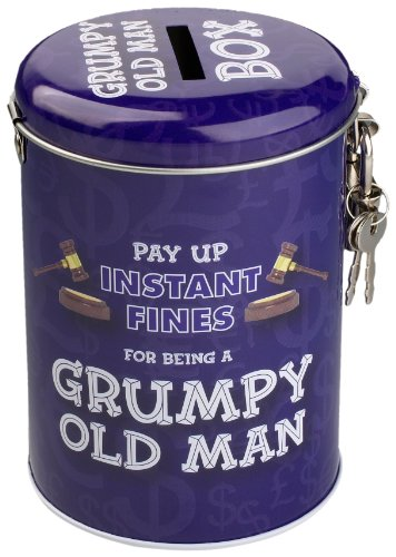 Boxer Gifts Grumpy Old Man Instant Fines Pay-Up