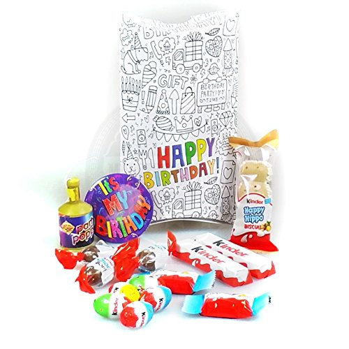 Happy Birthday Kinder Chocolate Pouch - By Moreton Gifts