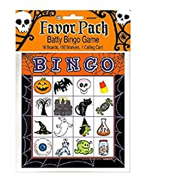 Halloween Bingo Game for 16 players