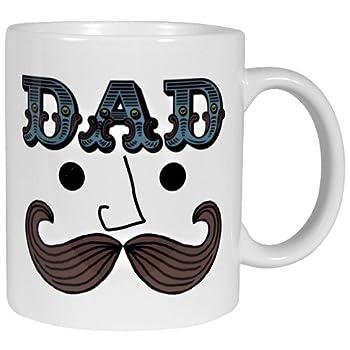 Dad Mustache Mug