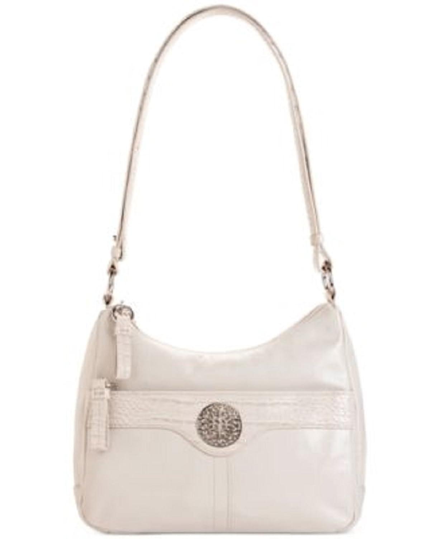 Giani Bernini White Shoulder Bag 9