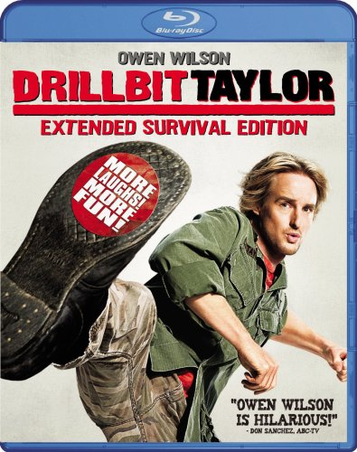 Cover art for  Drillbit Taylor (Extended Survival Edition) [Blu-ray]