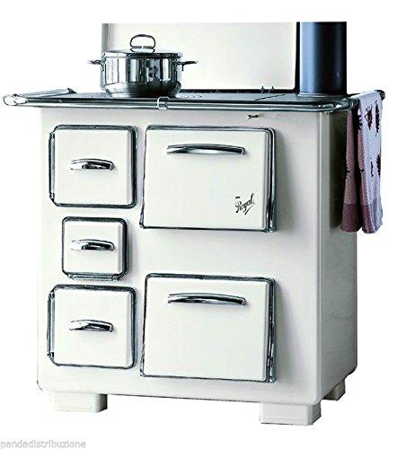 Cucine / Cucina Royal a legna Mod. 1950 colore avorio