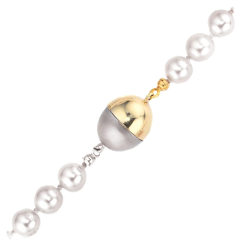 Damen Magnet – Schließe 585 Gold Gelbgold Weißgold kombiniert günstig online kaufen
