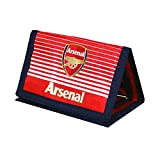 Arsenal FC Football Team Fade Velco Fasten Wallet