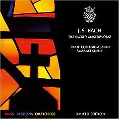 輸入盤CD 鈴木雅明/バッハ・コレギウム・ジャパン J.S.Bach:The Sacred Masterworks(10Cd)のAmazonの商品頁を開く