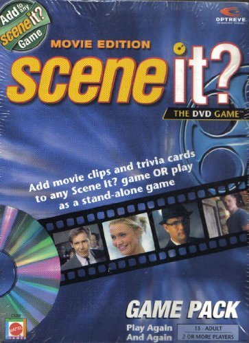 Scene It the DVD Game Movie Edition Game Pack - 1