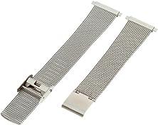 buy Hadley-Roma Men'S Mb3806Rwsq-22 22-Mm Mesh Stainless Steel Watch Bracelet