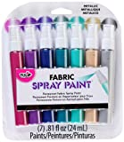 Tulip Fabric Spray Sets -7pk Metallic