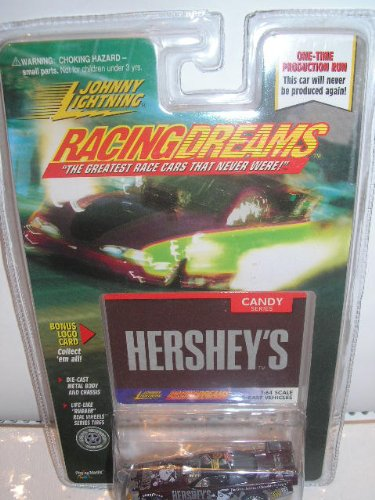 Johnny Lightning Racing Dreams Hershey's Die Cast Car