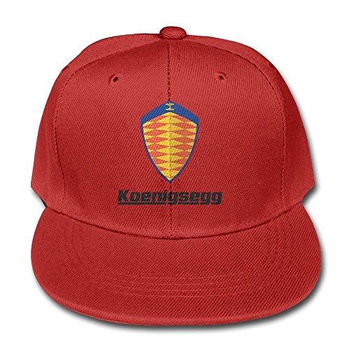feruch-tanxj-kids-koenigsegg-logo-adjustable-duck-tongue-hat-peaked-baseball-hat-cap-red