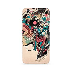 Ebby Featherful Girl Premium Printed Case For Oppo F1S