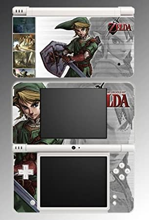 Legend of Zelda Link Twilight Princess Video Game Vinyl Decal Cover Skin Protector #2 for Nintendo DSi XL