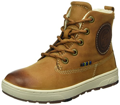 Lurchi Jungen Doug-Tex Desert Boots, Mehrfarbig (Tan Tabacco 47), 36 EU