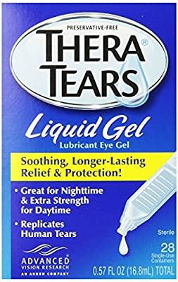 Thera Tears Thera Tears Liquid Gel, 0.57 fl.oz.,28-Count