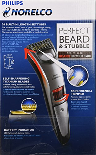 philips norelco qt4014 42 beard and stubble trimmer review. Black Bedroom Furniture Sets. Home Design Ideas