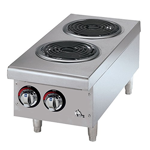 Commercial Electric Hot Plate - Coil Burner 1 Each