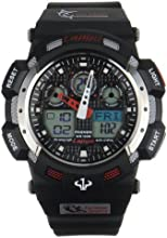 Auto Analog 100m Waterproof Analog-digital Boys Men Sport Watch with 3 Alarm Stopwatch Chronograph R