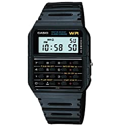 Casio 8-digit CA53W-1 calculator watch