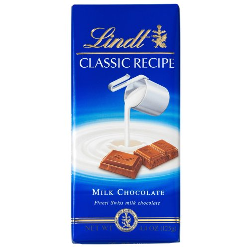 Lindt Classic Recipes Milk Chocolate, 4.4-Ounce Packages (Pack of 12)