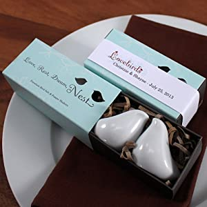 Click to buy Wedding Reception Decoration Ideas: Love Bird Salt & Pepper Shakers from Amazon!