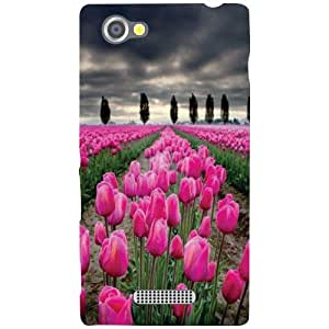 Sony Xperia M Back Cover - Buds Designer Cases