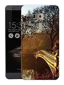"A Bridge To CrossPrinted Designer Mobile Back Cover For ""Asus Zenfone 3 Ze552kl"" (3D, Matte, Premium Quality Snap On Case)"