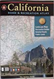 img - for California Road and Recreation Atlas book / textbook / text book