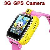 3G-GPS-Tracker-Kids-Smart-Watch-TURNMEON-Wristwatch-SIM-SOS-WIFI-Camera-Touch-Smartwatch-Parent-Control-app-for-Smartphone-Pink